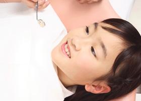 診療中の子供